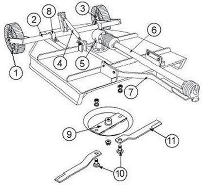 Picture of P-60-40-P  Parts Diagram