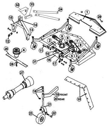 Picture of RFM-72  Parts Diagram