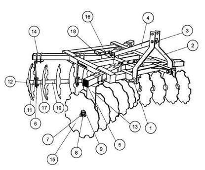 Picture of 18-16-NBF  Parts Diagram