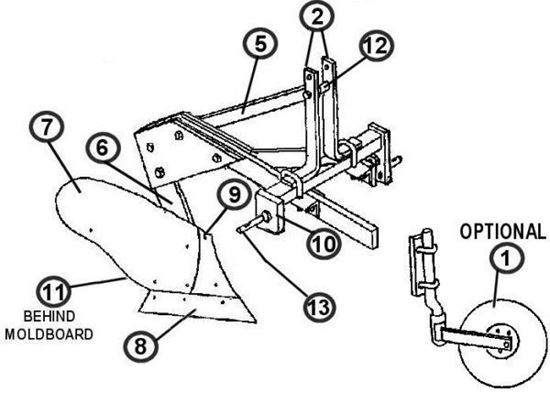 Picture of MBP-1-14  Parts Diagram