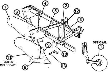 Picture of MBP-2-14  Parts Diagram