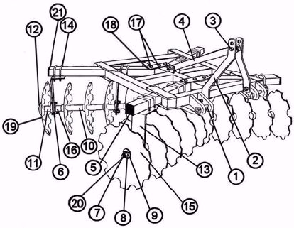 Picture of 18-16-G-NBF  Parts Diagram